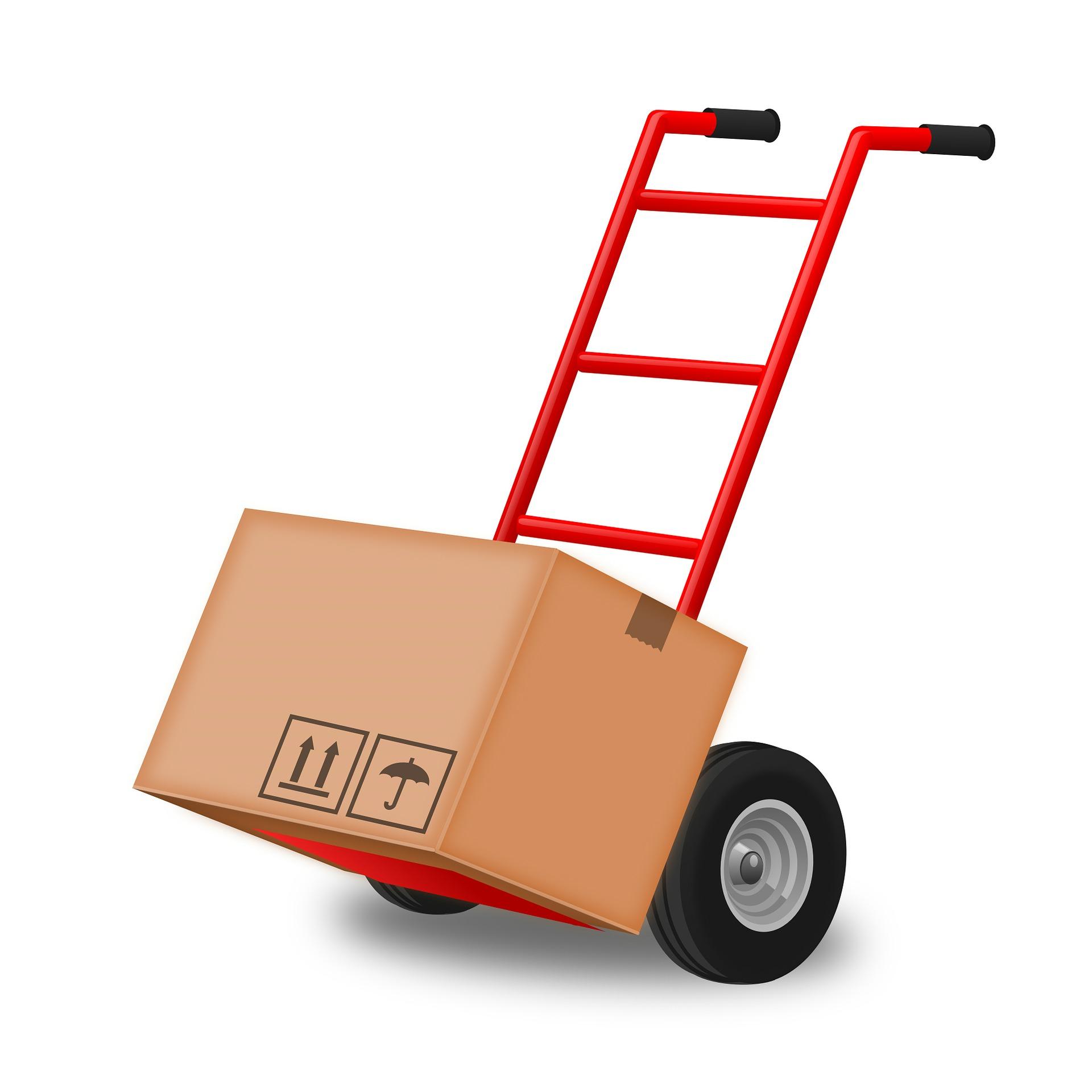 Flyt hurtigere og lettere med sækkevogne til trapper